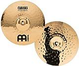"MEINL Cymbals マイネル Classic Custom Series ハイハットシンバル 15"" Medium Hihat CC15MH-B 【国内正規品】"