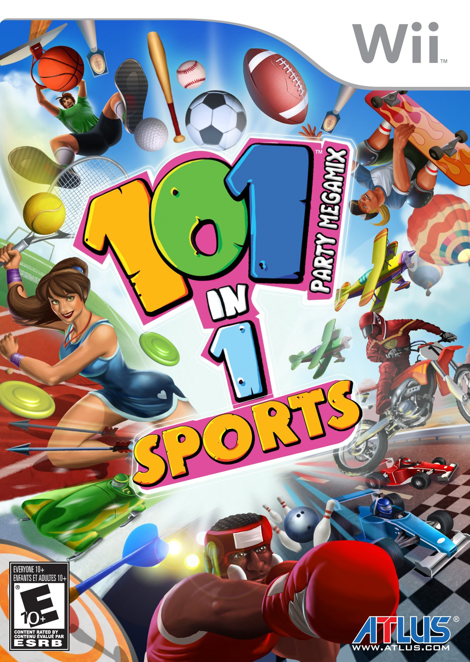 101 in 1 Sports Party Megamix - Nintendo Wii