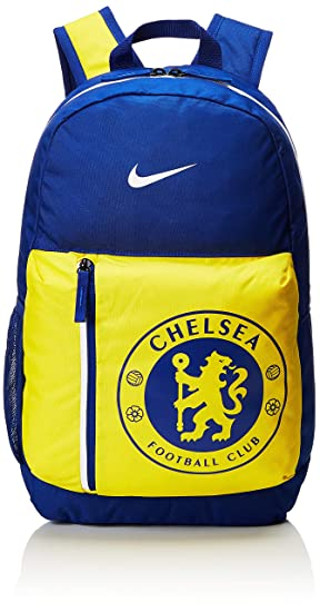 large discount 2018 sneakers various styles Nike Children's Stadium Chelsea FC Rucksack, Rush Blue/Tour Yellow/White,  50 x 30.5 x 15 cm