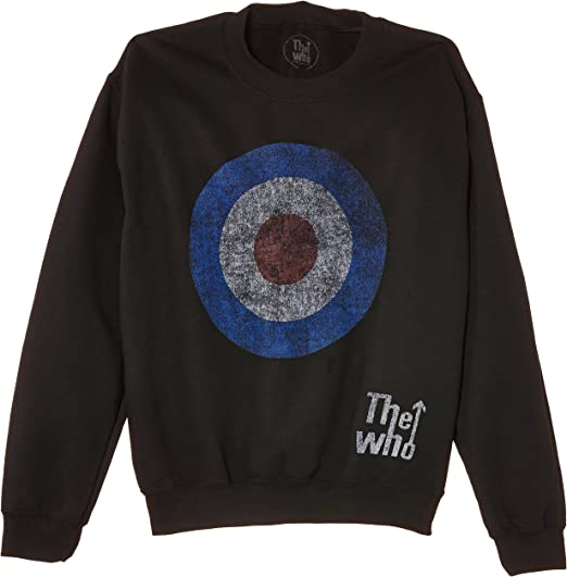 The Who Target Distressed Sudadera para Hombre