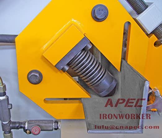 APEC Hydraulic Ironworker AIW-160S & Relative Tools