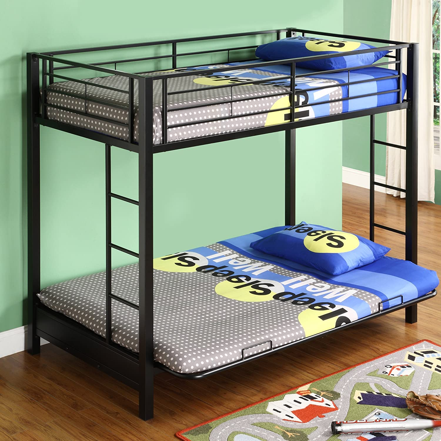 Top 7 Best Twin Over Futon Bunk Beds For Sale 200 To 500