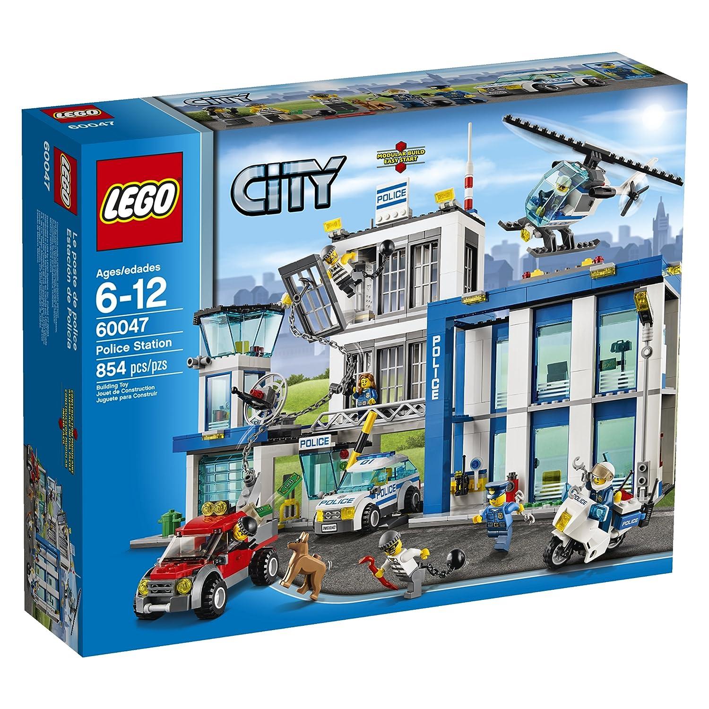 Amazon Lego City Police 60047 Police Station Toys Games