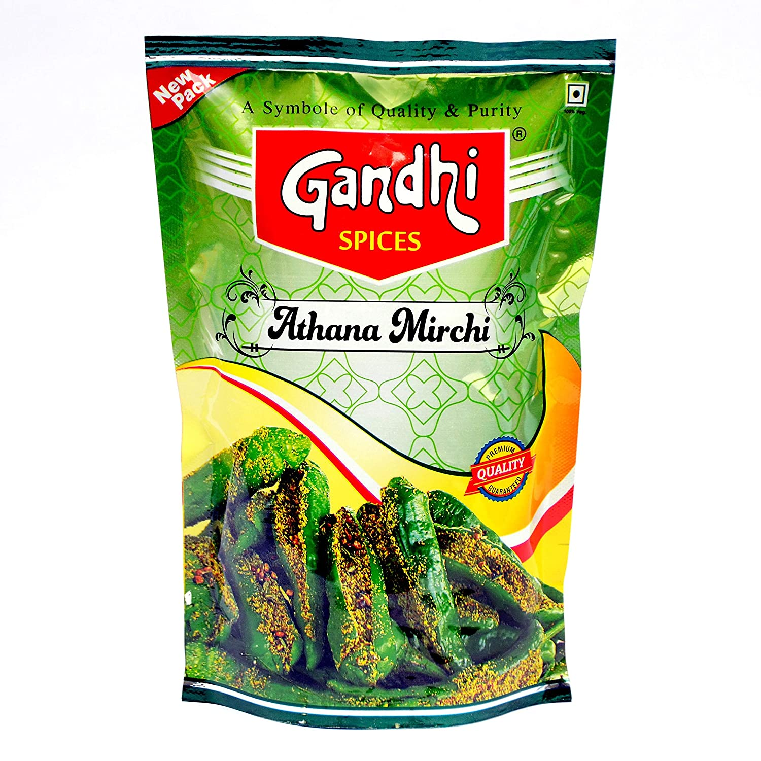 Gandhi Green Chilly Pickle, 400 g