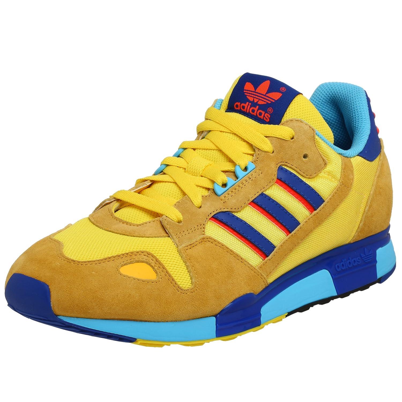 factory authentic 92115 9cf2c Adidas Originals Men's ZX 800 Running Shoe, Yellow/Blue ...
