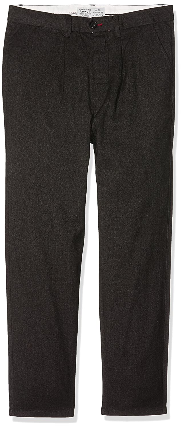 Mens Chino Cropped Lana Gris Trouser Springfield qQ9htl