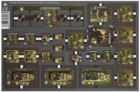 IELLO Heroes of Normandie - GE SS Panzergrenadier Board Game