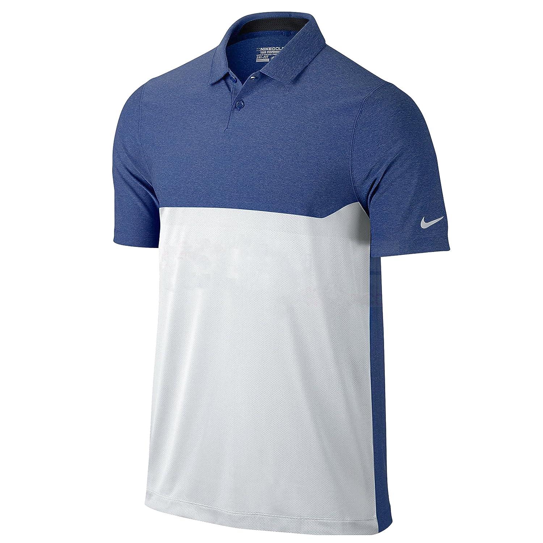 3d46147e Amazon.com : Nike Men's Major Moment Tactical Golf Polo Shirt : Clothing
