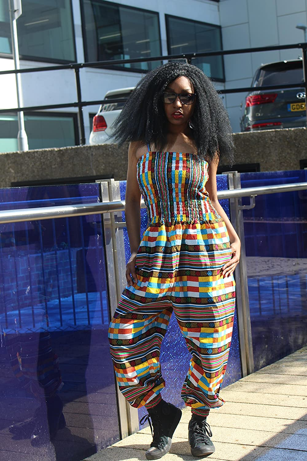 107e51c98c African Clothing is bang in trend right now. A colourful and comfy spin on  a party-wear classic. All over print with elastic ankles and waist make our  ...