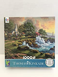 product image for Seaside Haven By Thomas Kinkade 1000 Piece Puzzle