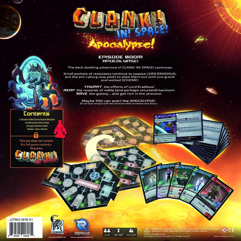 Renegade Game Studio RGS0841 Clank Expeditions - Juego de Mesa ...