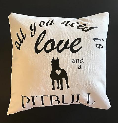 Pit Bull Pillow