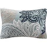 Amazon.com: INK+IVY Mira 200TC Comforter Set, King, Blue