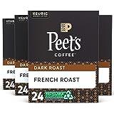 Peet's Coffee French Roast K-Cup Coffee Pods for Keurig Brewers, Dark Roast, 96 Pods