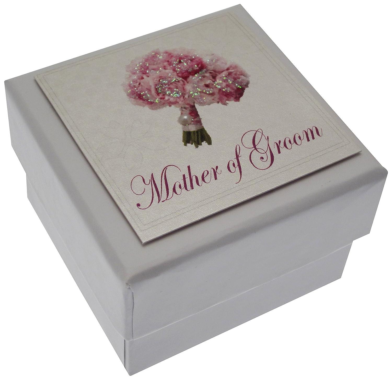 White Cotton Cards PM15 Bride Mini Wedding Table Favour Box with Shoe Design
