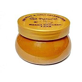 Art Box Genuine Chandan Kesar Tilak for Holi Pooja and Religious use, Tika Paste ( 1 Jars of 100 Gram )