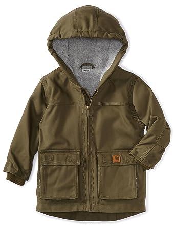 1e26f09ce Amazon.com  Carhartt Little Boys  Jackson Coat