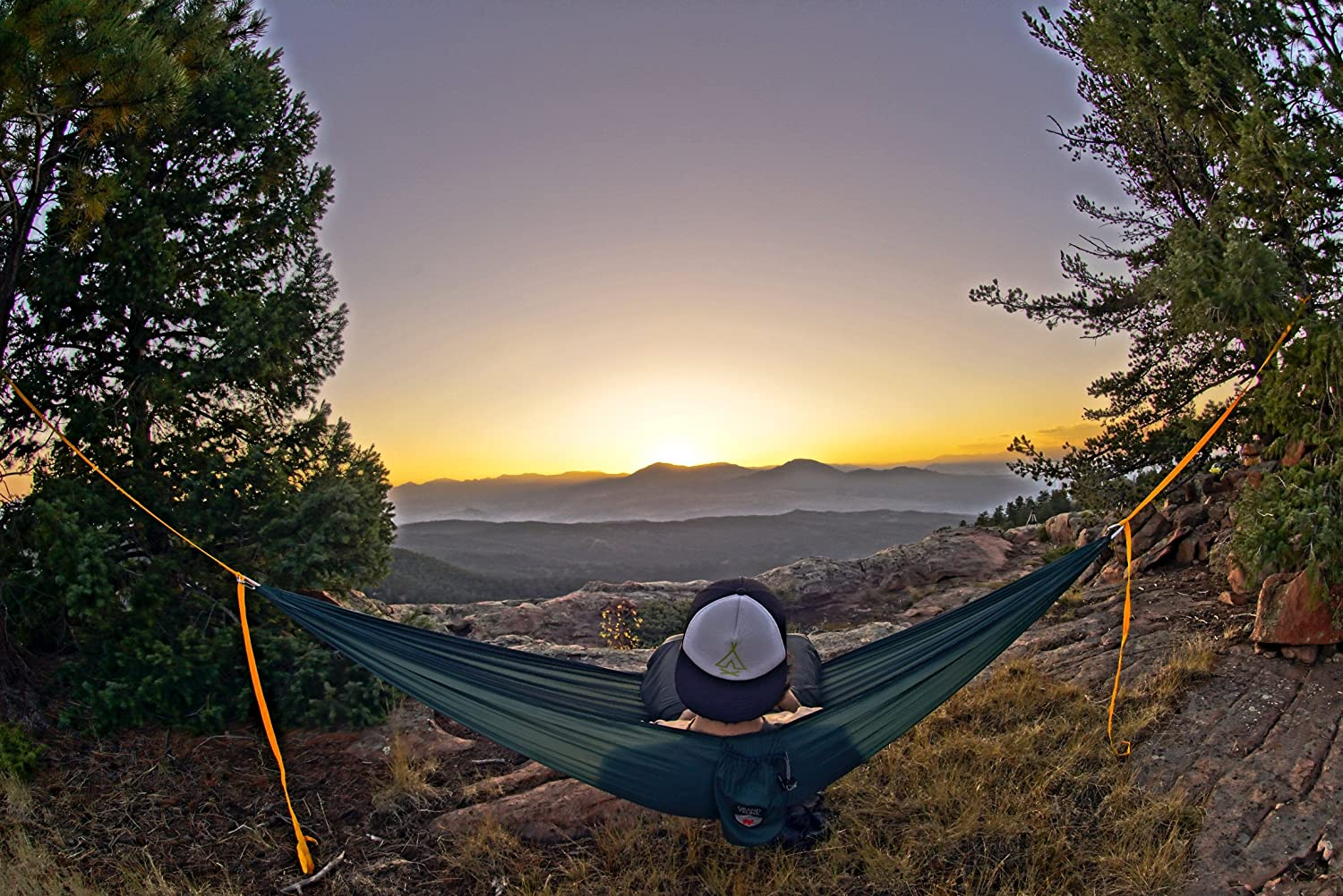 Starter Hammock and Travel Hammock Hiking Backpacking Portable Camping Grand Trunk Ultralight Hammock
