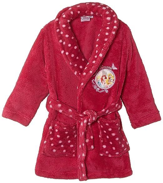 Disney Princess Nh2065 Robe De Chambre Fille Rose Fuschia