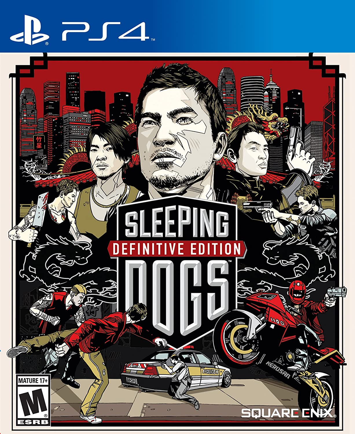 Amazon Com Sleeping Dogs Definitive Edition Playstation 4 Square