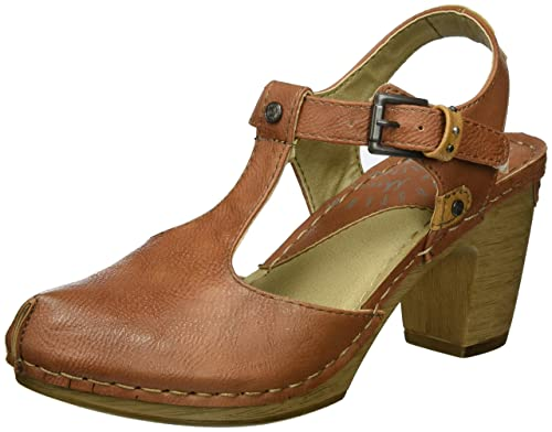 Womens 1227-901-480 Closed Toe Heels Mustang kl8facLui