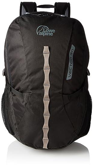 Lowe Alpine Vector 30 - Mochila Unisex, Color Negro, tamaño Talla única, Volumen Liters 30.0: Amazon.es: Deportes y aire libre