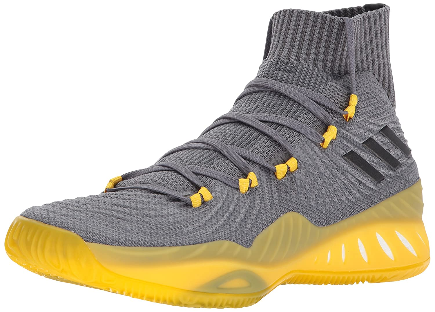 adidas Men's Crazy Explosive 2017 Primeknit Basketball Shoes B01N1UKMQ9 8 M US|Grey Four/Black/Grey Five