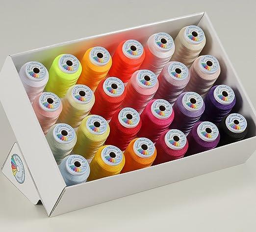 Multitalent 40 - Set de hilos para coser a máquina: Amazon.es: Hogar