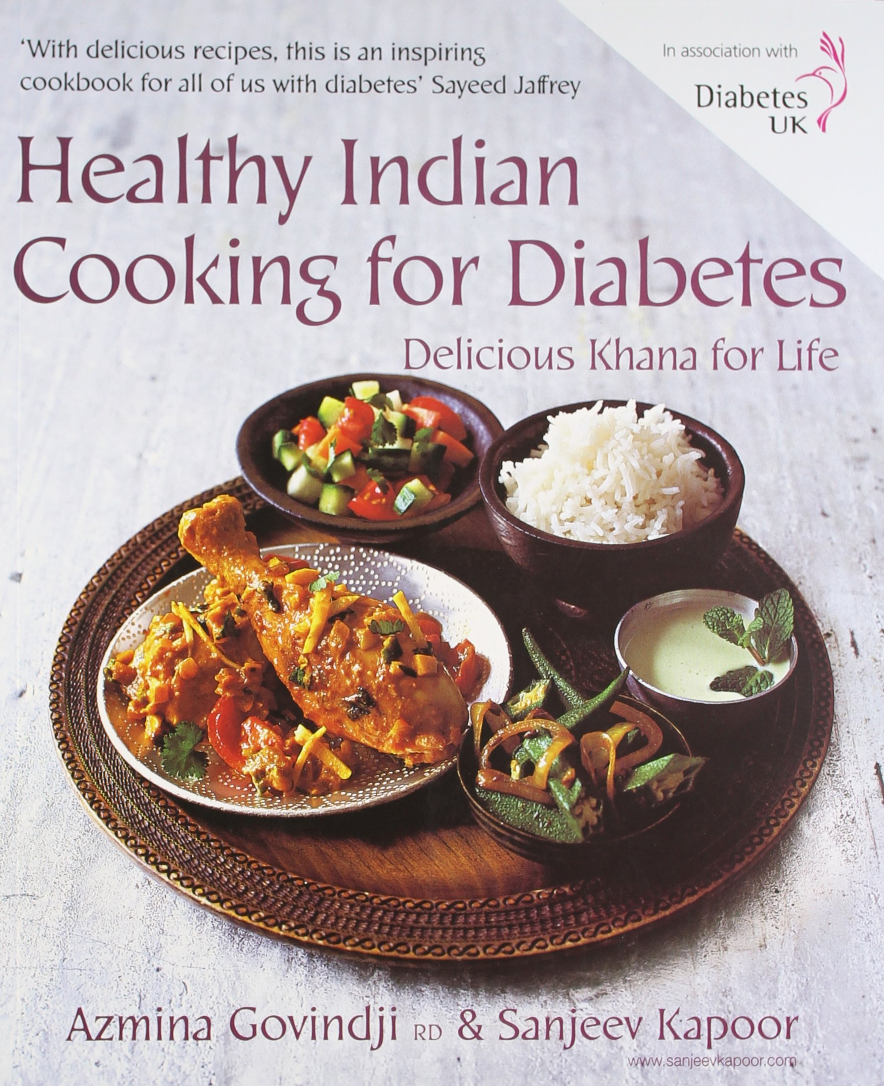 Healthy indian cooking for diabetes sanjeev kapoor azmina govindji healthy indian cooking for diabetes sanjeev kapoor azmina govindji 9788179913574 amazon books fandeluxe Gallery
