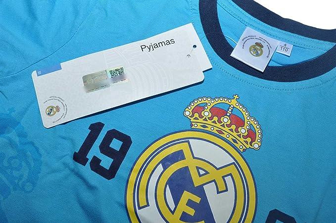 Real Madrid F.C. - Pijama dos piezas - para niño Design 2 98 cm