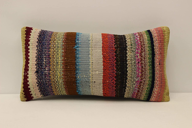 Kilim lumbar pillow Pillow cover 10X16  25x40 cm cushion Bohemian style Kilim pillow Small pillow Wool pillow Kilim pair pillow