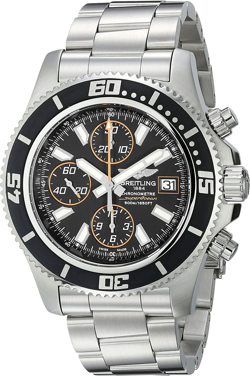 Breitling Men s A1334102-BA85 Superocean Stainless Steel Watch