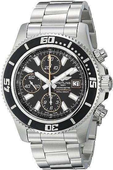 Breitling A1334102-BA85 - Reloj de Pulsera Hombre, Acero Inoxidable, Color Plata