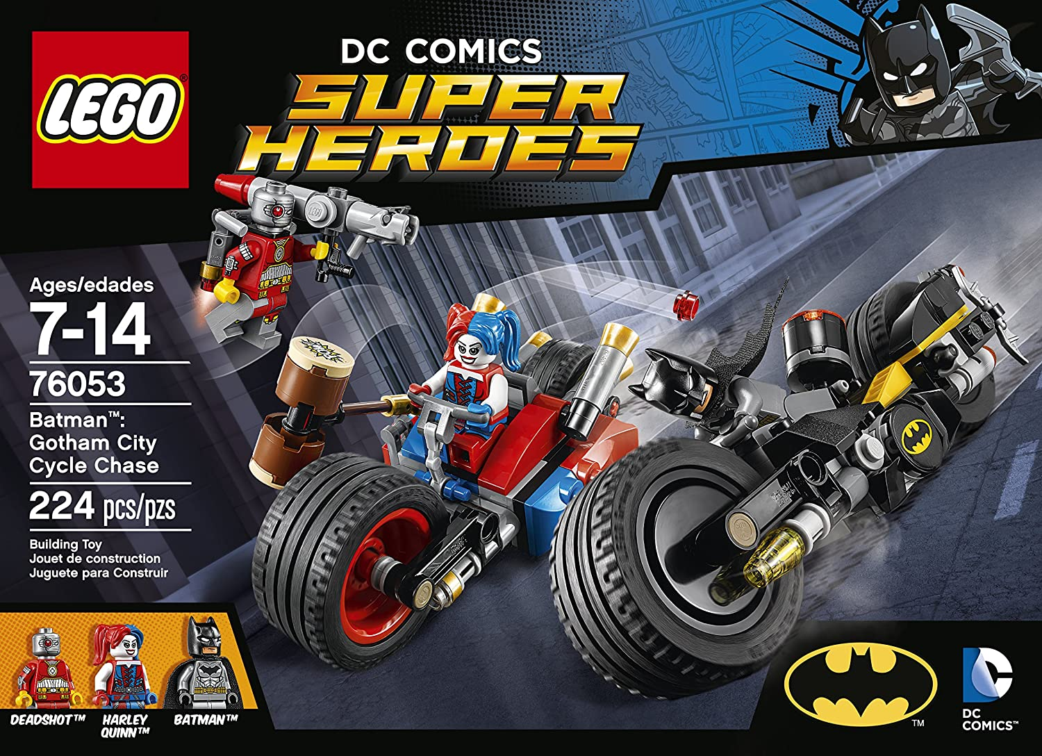LEGO Super Heroes Batman: Gotham City Cycle Chase 76053