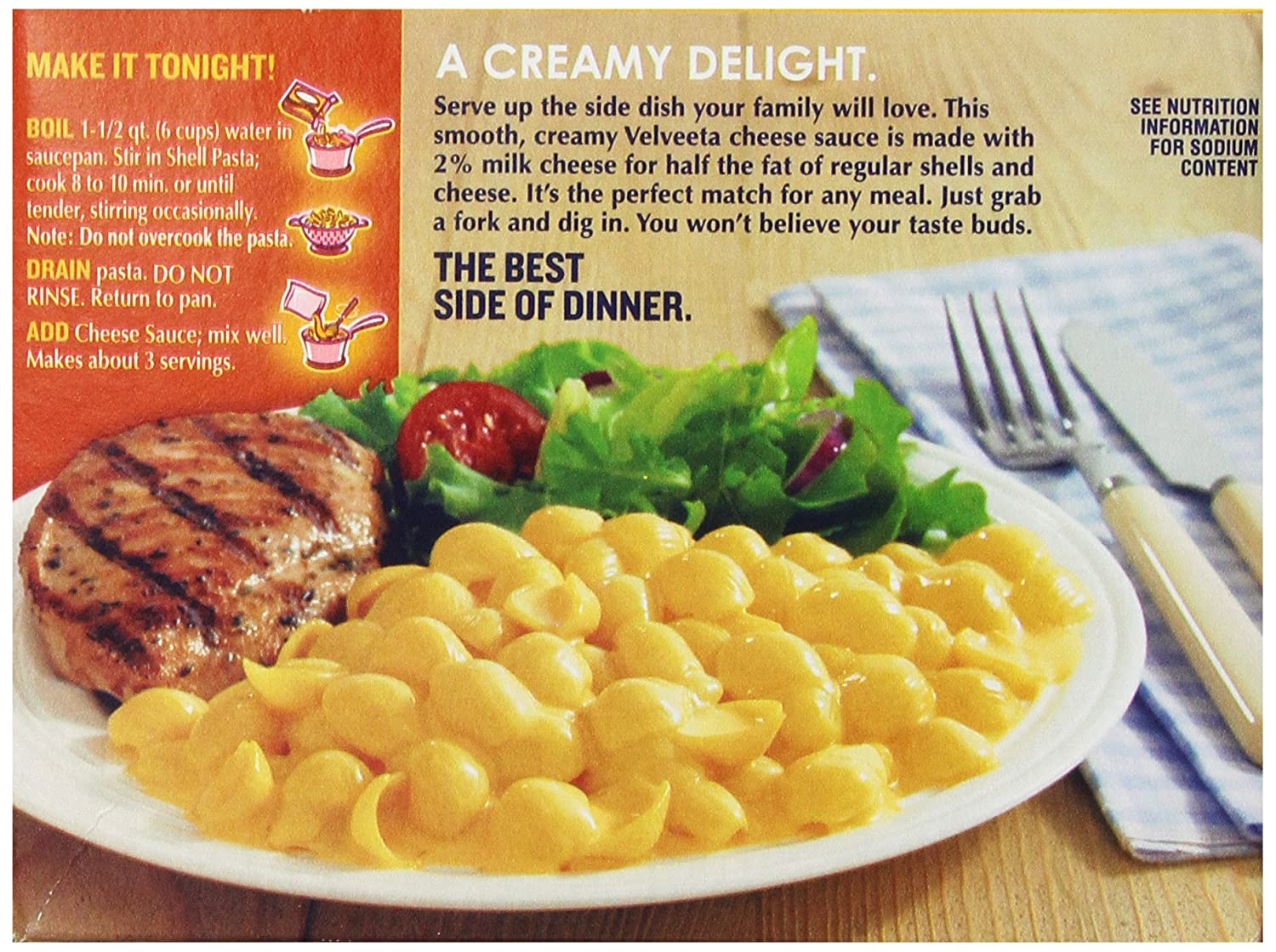 Amazon Com Velveeta Shells And Cheese With 2 Percent Milk 12 Ounces Pack Of 6 Packaged Macaroni And Cheese Grocery Gourmet Food