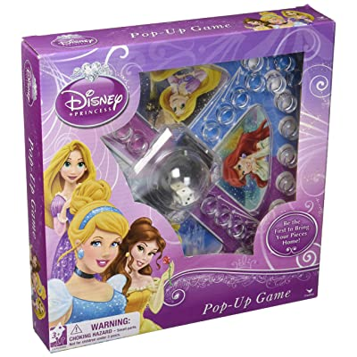 Disney Princess Pop-up Board Game: Toys & Games
