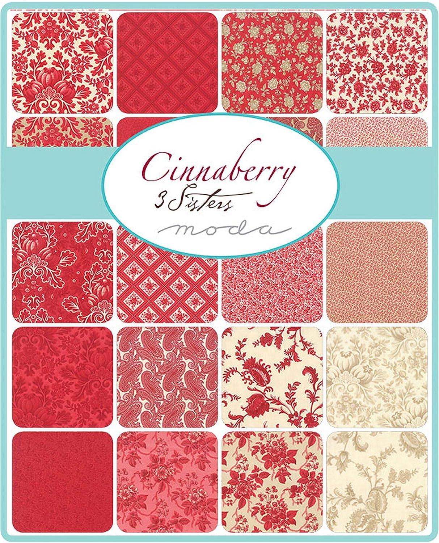 Cinnaberry Mini Charm Pack por 3 hermanas; 42 – 2.5 pulgadas tela precortada colcha cuadrados: Amazon.es: Juguetes y juegos