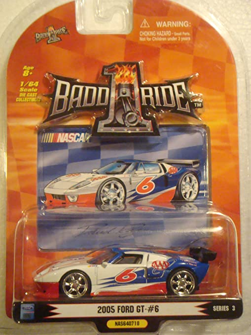 Badd Ride Nascar Series Red White Blue Aaa   Ford Gt