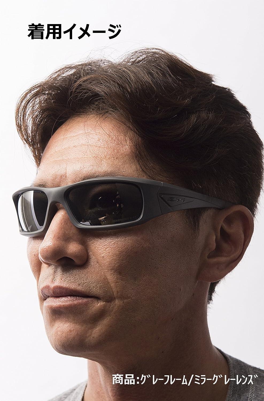 5c6a42dc5224 Amazon.com: ESS 5B High-Impact Sunglasses Smoke Gray Lens EE9006-06: Sports  & Outdoors