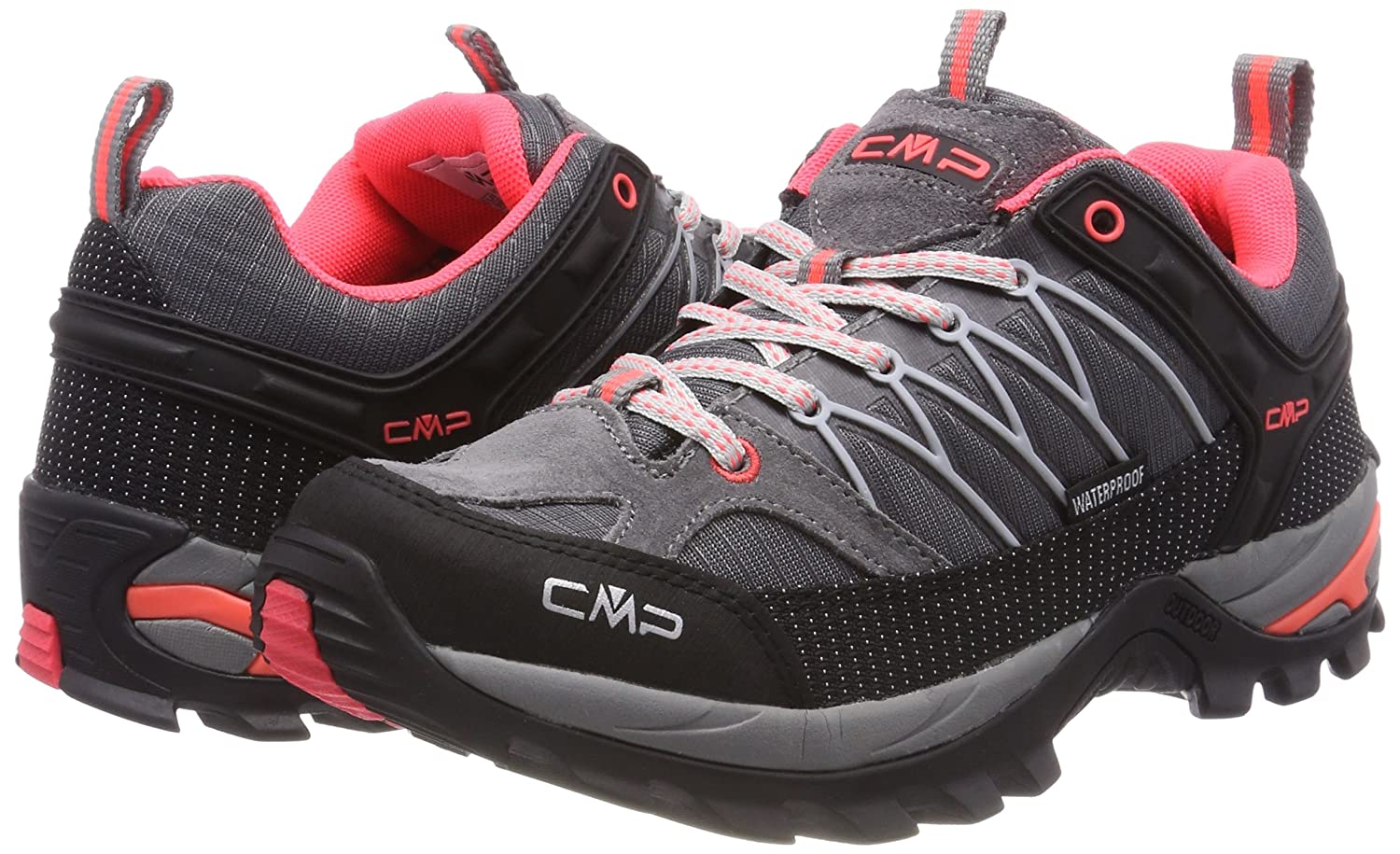 CMP Campagnolo Womens Rigel Low Rise Hiking Shoes