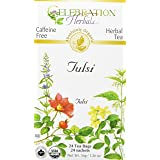 Celebration Herbals Tulsi (Holy Basil) Organic 24 Tea Bag, 36Gm