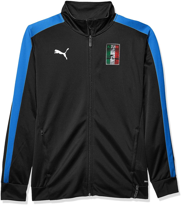 PUMA Men's COPA America T7 Jacket, Black Royal, L
