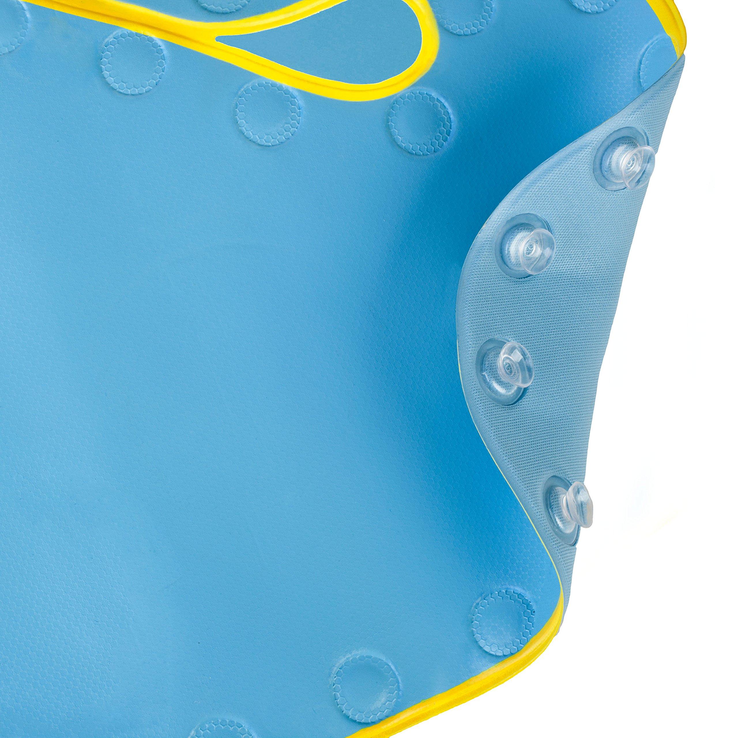 Skip Hop Moby Baby Bath Set, Four Bathtime Essentials - Spout Cover, Bath Kneeler, Elbow Pad, And Bath Mat, Blue by Skip Hop (Image #10)
