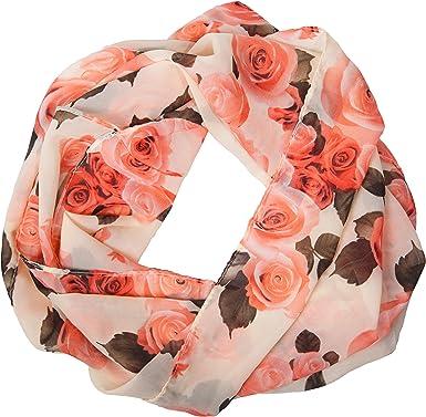 Morbido come accessorio estivo antisguardi porafoglio MANUMAR Fiori di rose Loop attendano immagine panno easybiz FLOWER iony! Meravigliosi colori