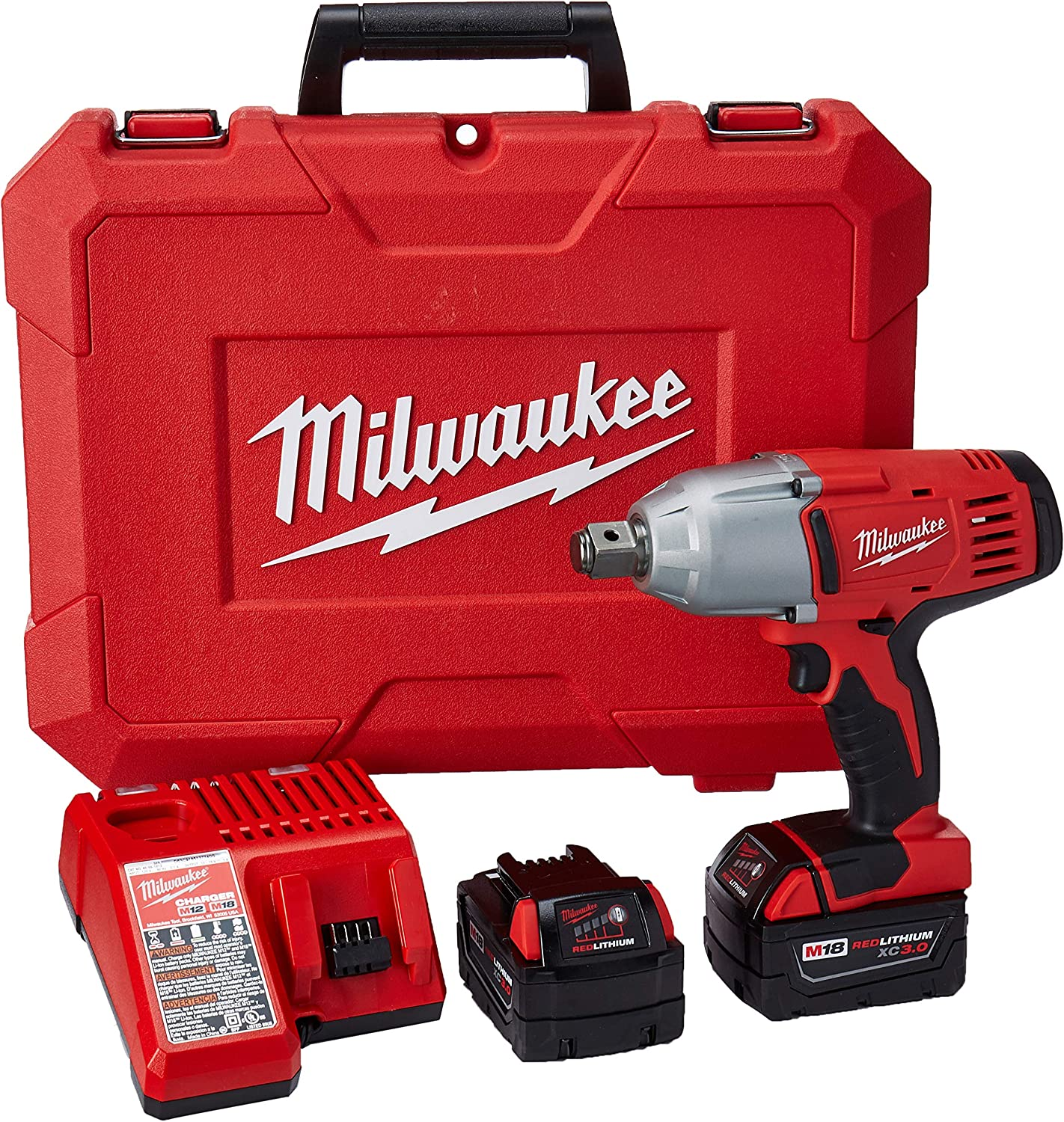 Milwaukee 2664-22 18-Volt M18 3 4-Inch High Torque Impact Wrench with Friction Ring