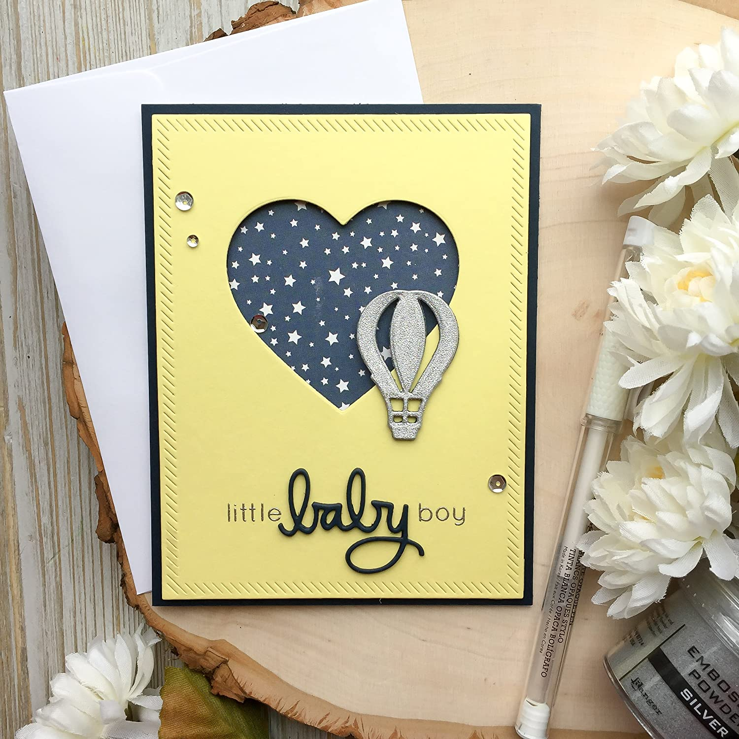 Amazon Com Baby Shower Card Handmade Card Boy Baby Shower Card Baby Boy Cards Neutral Baby Shower Cards Greeting Card Baby Card Boy Its A Boy Handmade