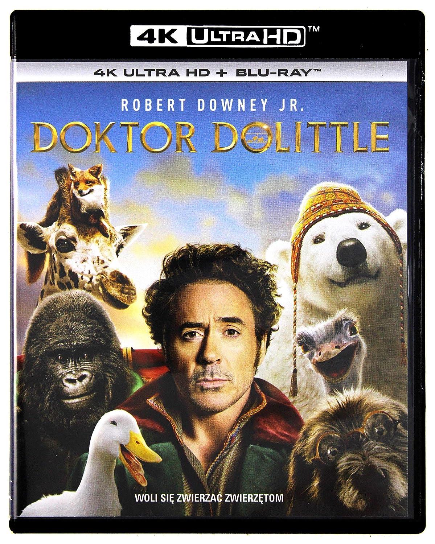 Dolittle 4K UHD Blu-Ray Region Free IMPORT No hay versión española ...