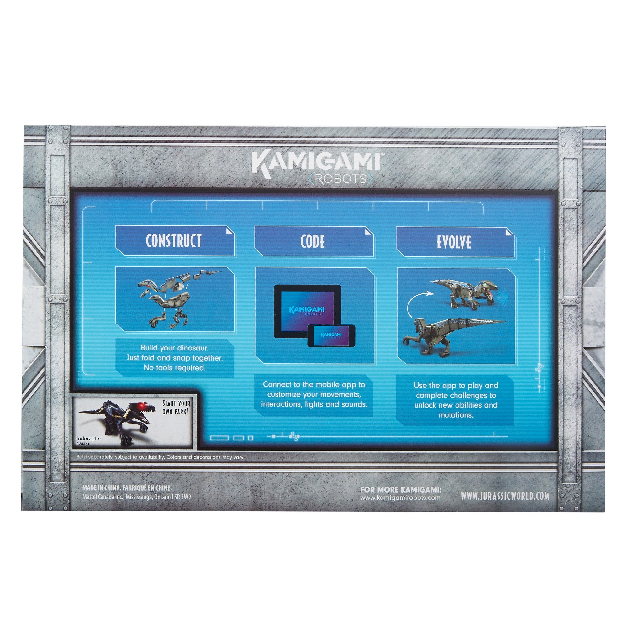 Kamigami Jurassic World Blue Robot by Jurassic World Toys (Image #14)