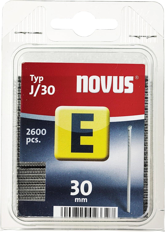 Novus 044-0086 Carton de 2600 Clous J//25 mm Rouge