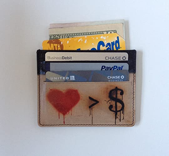 Amazon.com: Credit Card Holder with LOVE IS GREATER THAN ...